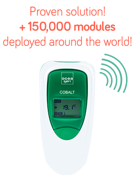 Cobalt 2, wireless temperature data logger - OCEASOFT