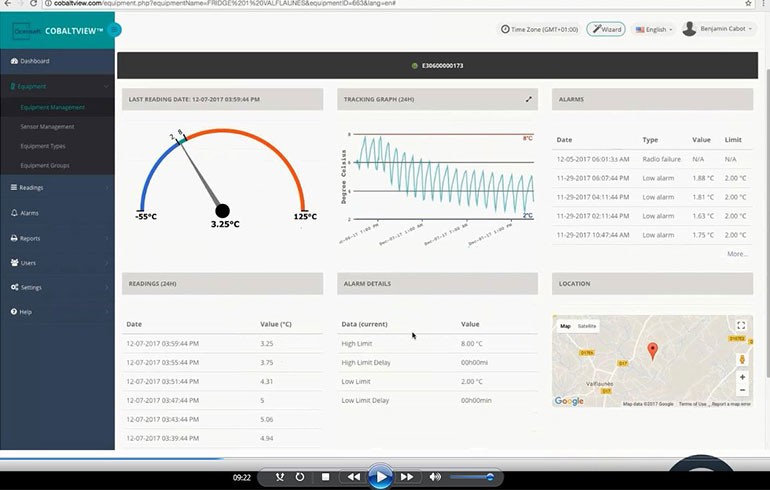 Webinar - How the Cloud How the Cloud drastically simplifies cold chain monitoring - OCEASOFT