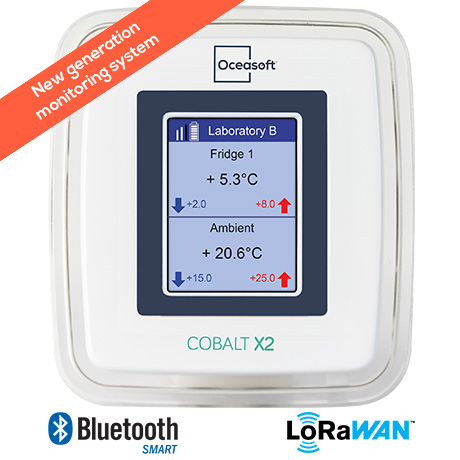 Cobalt X2 environment monitoring system for laboratories | OCEASOFT