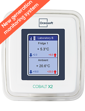 Cobalt X2 wireless temperature data logger | OCEASOFT
