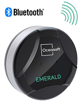 Bluetooth temperature sensor Emerald - OCEASOFT
