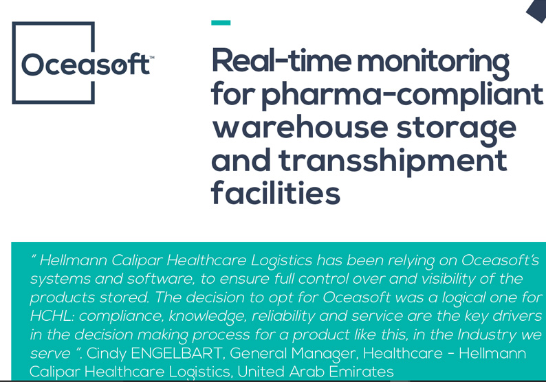 Case Study: Hellmann Calipar Healthcare Logistics - OCEASOFT
