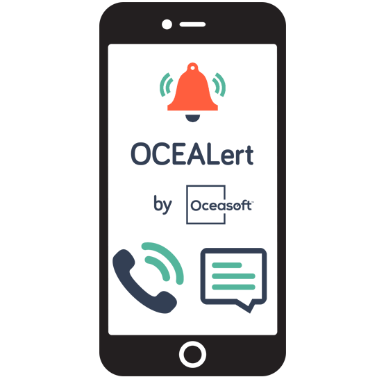 OCEAlert automated alerts by phone or SMS - OCEASOFT