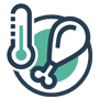 Food cold chain icon - OCEASOFT