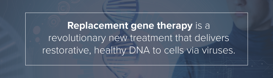 replacement gene therapy