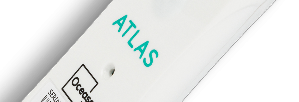 Single use temperature data logger Atlas - OCEASOFT