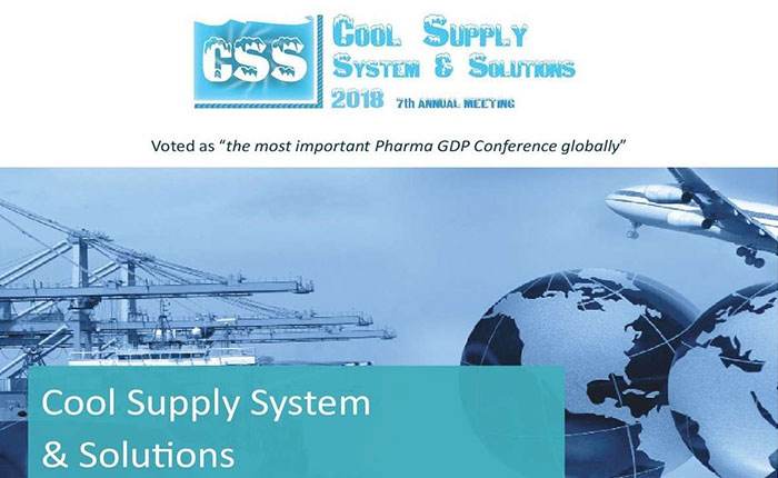 Join us at the Cool Supply System & Solutions 2018 (Amsterdam, NL)