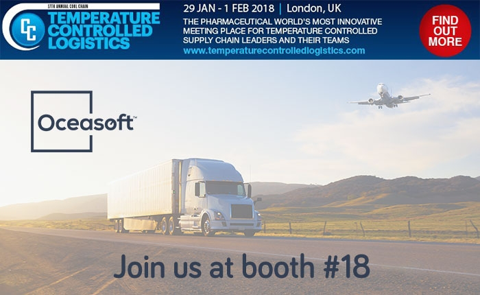 Join OCEASOFT at Temperature Controlled Logistics 2018