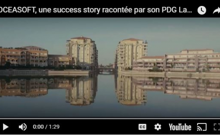 OCEASOFT, une success story racontée par son PDG, Laurent Rousseau
