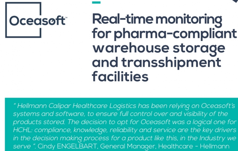 Case Study: Hellmann Calipar Healthcare Logistics | OCEASOFT