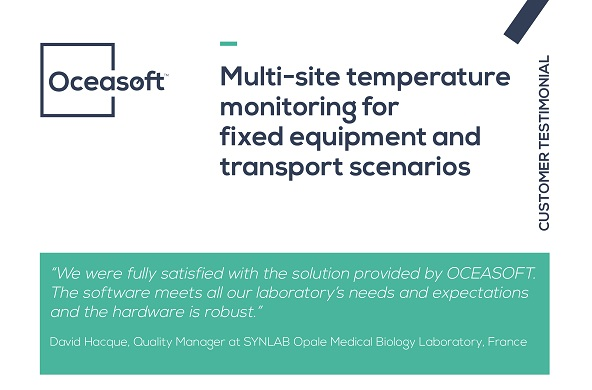 Case Study - SYNLAB Opale laboratory - OCEASOFT