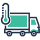 Temperature controlled logistics icon - OCEASOFT